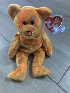 MWMT TY Beanie Babies -  MC Anniversary 2nd Edition Mastercard bear