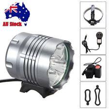 10000Lm 5x CREE XML U2 LED Head Front Bicycle Lamp Bike Light HeadLight Headlamp
