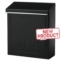 Steel Locking Mailbox Mail Box Wall Mount Newspaper Letterbox W/ Door & 2 Keys