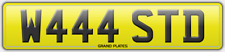 WASTED REGISTRATION W444 STD WRECKED RUBBISH REFUSE RECYCLE NUMBER PLATE WASTE