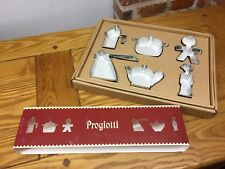 Alessi ACOOKIESET Set Of Six Cookie Cutters In 18/10 Stainless Steel Discontinue