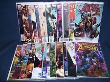 The New Avengers #1 -#20 (2005) Nm Marvel with Bag and Board with Variants