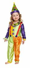 Bébé Filles Clown Enfant Déguisement Fête Costume Âge 3 World Book Day NEUF