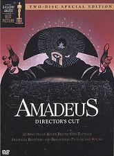 Amadeus - Directors Cut (DVD, 2002, 2-Disc Set, Two-Disc Special Edition)