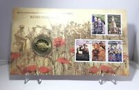 2008 $1 Large Coin PNC 90th Anniv End of WWI Remembrance Limited Collectable
