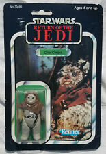 Star Wars Vintage Chief Chripa Figure ROTJ 77 Back A Carded MOC Made In Mexico
