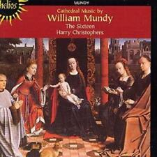 William Mundy : Cathedral Music CD (2002) ***NEW***