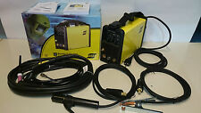 ESAB BUDDY TIG 160 saldatrice inverter TIG elettrodo + cavi torcia 0700300681