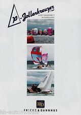 Prospekt Fricke & Dannhus P Jollenkreuzer 15 qm 2006 HD Yachtbau Yacht brochure