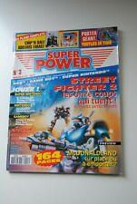 SUPER POWER  N° 3 MAGAZINE OCTOBRE 1992 NINTENDO SEGA CONSOLE STREET FIGHTER 2