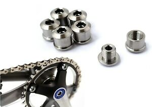 Titanium Chainring Bolts Single/Double/Triple Speed