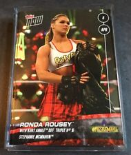 2018 Topps Now WWE Wrestlemania Ronda Rousey #30 Print Run 1342 ~ Rare