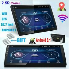10.1'' Android 8.1 Car Stereo Radio Double 2 DIN GPS Navi 2.5D Tempered Glass