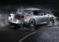 Nissan GTR Glossy Poster Print 260gsm
