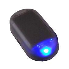 AUTO ENERGIA SOLARE FINTA ALLARME STIMOLARE ANTIFURTO LAMPEGGIANTE LAMPADA LED