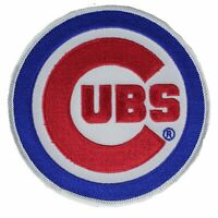 "Chicago Cubs ""Cubs"" Sleeve Patch Jersey Official MLB Primary Team Logo Emblem"
