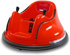 Kids ASTM-Certified Electric 6V Ride Bumper Car W/ Remote Control 360 Spin~Red