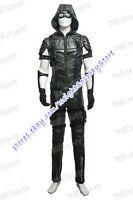 Green Arrow Season 4 Cosplay Green Arrow Oliver Queen Costume Halloween Uniform