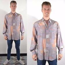 Unbranded Disco Vintage Casual Shirts & Tops for Men