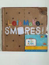 Let's Make Smores! felt busy book  preschool activity preK