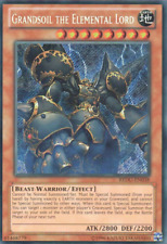Yugioh REDU-EN038 Grandsoil the Elemental Lord Secret Rare UNLIMITED ED NM