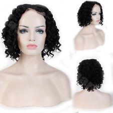 Women's Medium BOB Wave Hair Wig Full Head Wig U Part Lace Synthetic Hair Wigs