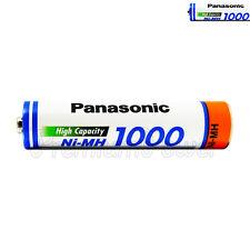 1 x Panasonic AAA battery 1000 930mAh Rechargeable High capacity Ni-MH Akku HR03