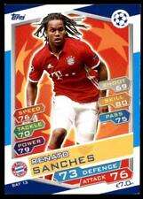 Match Attax Champions League 16/17 Renato Sanches Bayern München No. BAY13