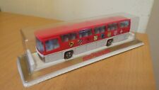 MAJORETTE NO 373 AUTOCAR BUS RED/WHITE 1/87 IN ORIGINAL UNOPENED BOX