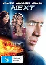 Next * NEW DVD * Nicolas Cage Jessica Biel (Region 4 Australia)