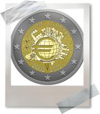 2 EURO * Portugal 2012 *** 10 ans - 10 jaar euro *** Portugal 2012 !!!