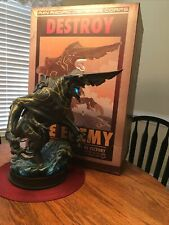 SIDESHOW COLLECTIBLES PACIFIC RIM KNIFEHEAD POLYSTONE STATUE NUMBER 356/1000