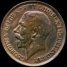 More details for 1914 halfpenny george v almost uncirculated freeman 393