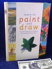 Learn to Paint & Draw Angela Gair Book Art Lesson Drawing