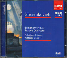 Shostakovich: Symphony No. 5; Festive Overture CD **BRAND NEW/STILL SEALED**