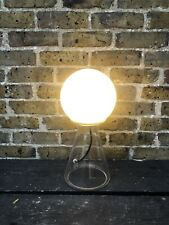 Glass Orb Table Lamp