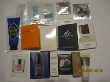 40 samples: La Prairie, Fresh, Jimmy Choo, Aveda, Kiehls, Clinique,