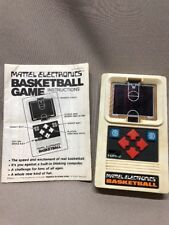 Vintage 1978 MATTEL Electronic Basketball Game Hong Kong W/ Instructions Tested
