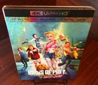 Birds of Prey (4K Ultra HD+Blu-ray+Digital) Slipcover-NEW (Sealed)-Free SHIPPING