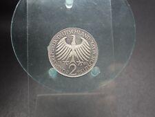 2 Deutsche Mark 1969 J Max Planck BRD