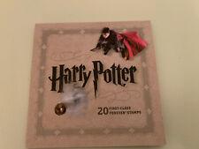 Usps Harry Potter Forever Postage Stamps Collectors 2013 Usa Booklet 20 stamps