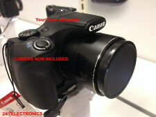 FRONT SLIP-ON LENS CAP DIRECTLY TO CAMERA CANON POWERSHOT S5IS S5 IS+HOLDER