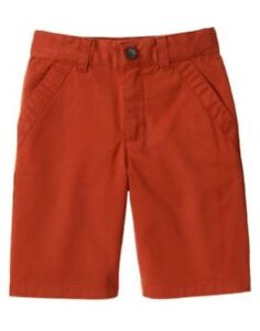 GYMBOREE OUTBACK ADVENTURE RED CHINO WOVEN SHORTS 3 4 5 6 7 8 10 12 NWT