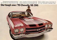 1970 Chevrolet Chevelle SS 396 Auto Refrigerator / Tool Box Magnet