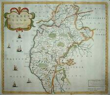 CUMBERLAND BY ROBERT MORDEN. 1695 FIRST EDITION.
