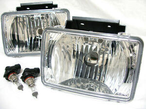 Fog Driving Light Lamps w/2 Light bulbs One Pair Fit 2004-2011 Colorado Canyon