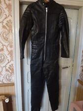 combinaison cuir moto piste vintage bsa norton triumph ajs matchless 38 nos