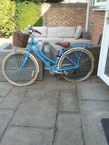 Victoria Pendleton Somerby Ladies Bike In Pale Blue