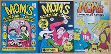 Mom's Homeade Comics 1, 2 & 3 (1969)  Underground Comic FINE Free Shipping!