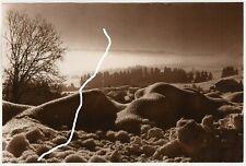 23x15cm Vintage Orig Foto Experimentell Schneelandschaft kristallin photo